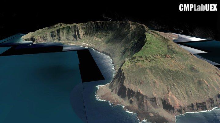 El Hierro, Islas Canarias, España 3D Model