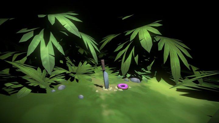 Sketch 06 - Jungle 3D Model