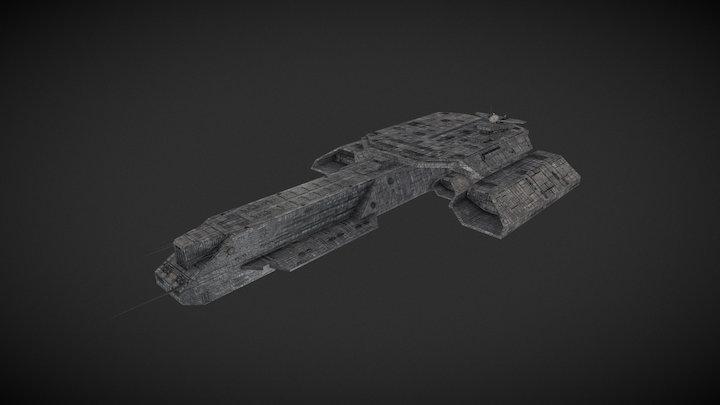 Stargate SG1 - Deadalus BC303 3D Model