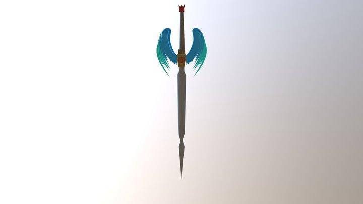 Angel Sword 3D Model