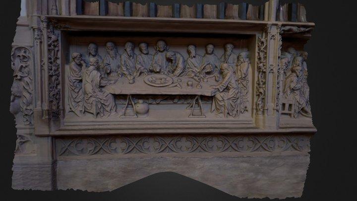 The Last Supper 3D Model