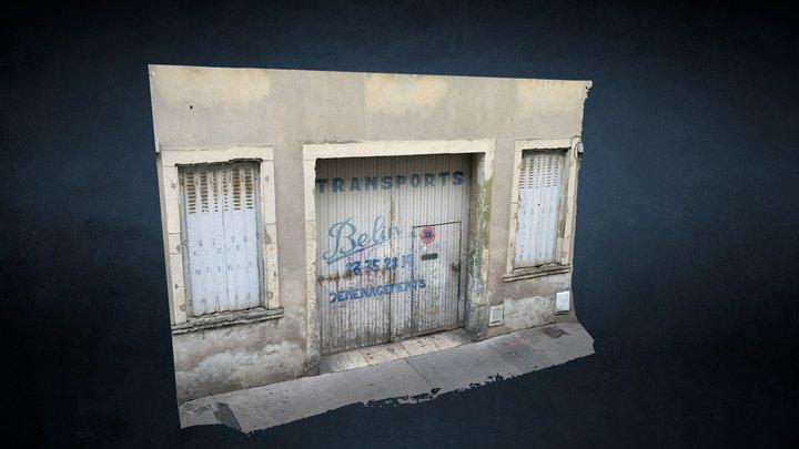 Porte des anciens transports Belin, Nancy 3D Model