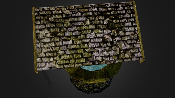 Asian Waterwell 3D Model