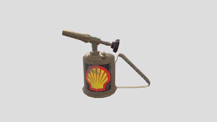 Gasoline Torch 3D Model