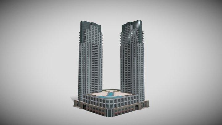 The Vizcayne, Miami 3D Model