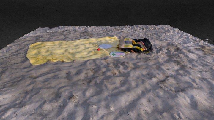 Latest Beach 3D Model