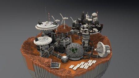 Mars Complex - Foxtrot 3D Model