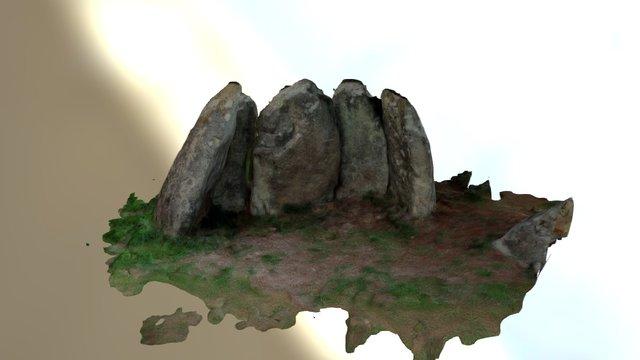 Dolmen de Abuime 3D Model