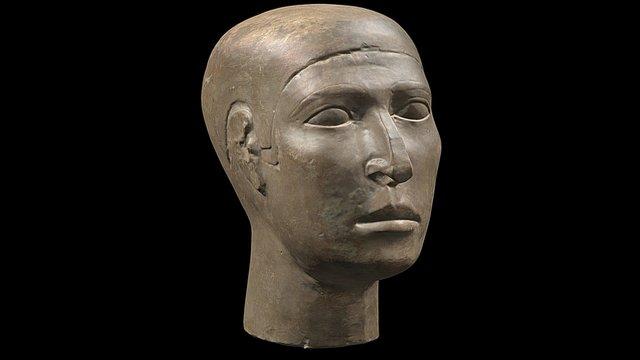 Reserve head of Nefer, tomb G 2110, Giza, Egypt 3D Model