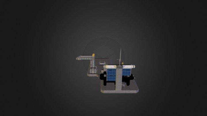 Platform 648 Obj Files 3D Model