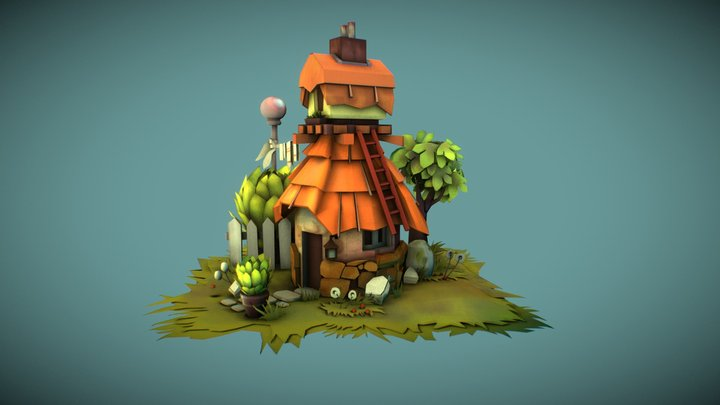 Josephine's house 3D Model