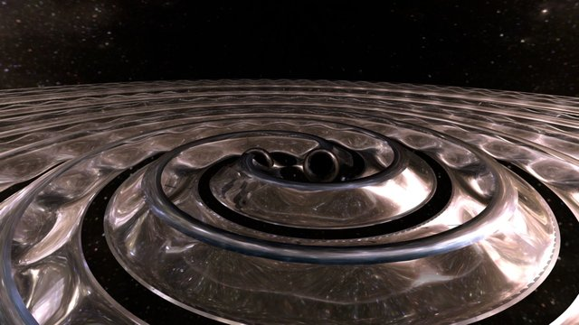 gravitational waves 3D Model