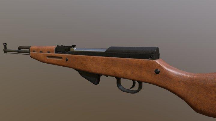 Russian SKS 3D Model