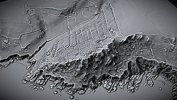 Decklers Cliff, Bronze Age Field System 3D Model