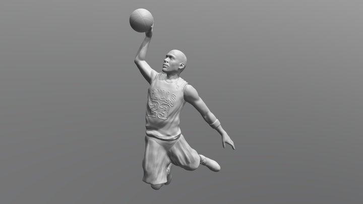 Michael Jordan for 3D printing 3D Model