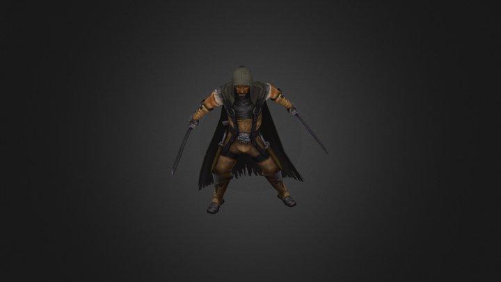 Neutral Thug 3D Model
