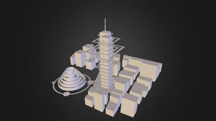VirtualSpace_Nammon.3DS 3D Model