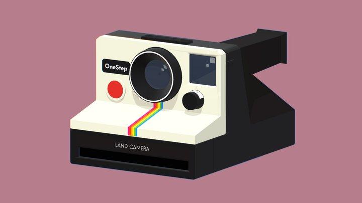 Polaroid OneStep SX-70 3D Model