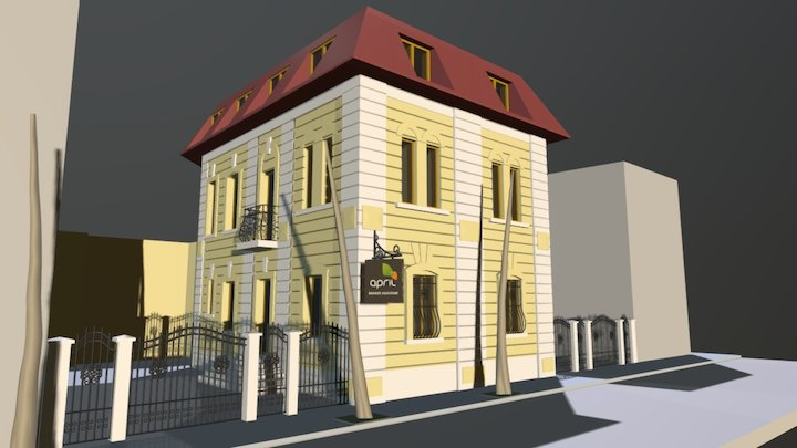 APRIL BRK V2 3D Model