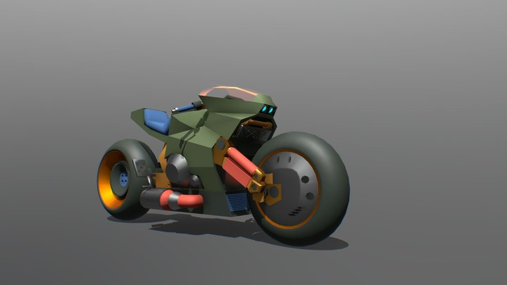 Ronin (Colored draft 3/3, finally) 3D Model