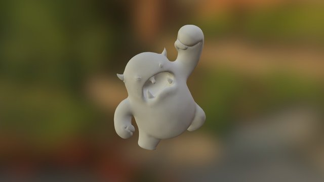 Sculpting Melvin with CGCookie 3D Model