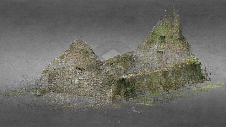 Knockboy Church, Waterford 3D Model