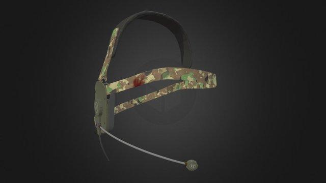 Horzine Tactical Headset Mark II 3D Model