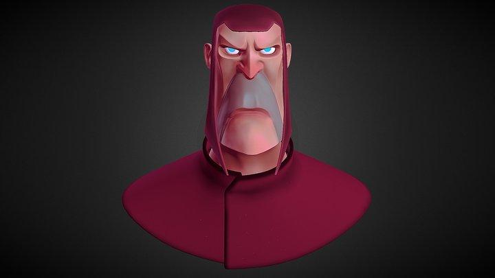 Magneto Sharp&Flat 3D Model