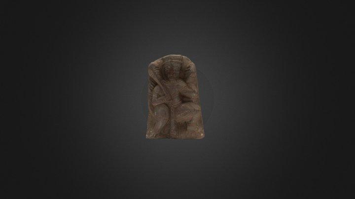 India Statue #1 3D Model