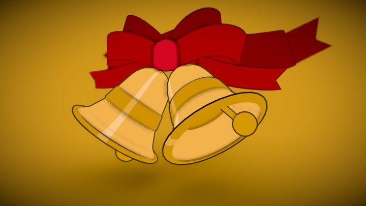 3December-Bells #9 | Jingle Bells 3D Model