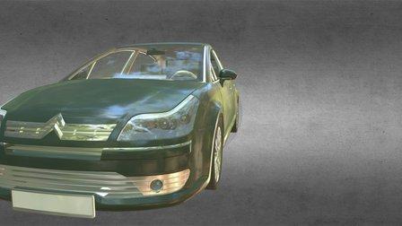 HDM Citroen CAR 3D Model