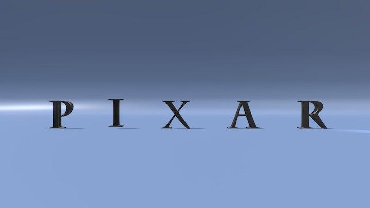 Pixar Luxo Junior animation study 3D Model