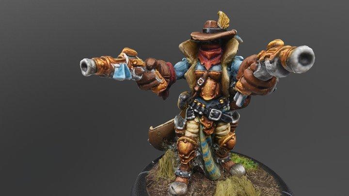 Trollkin Outlaw 3D Model