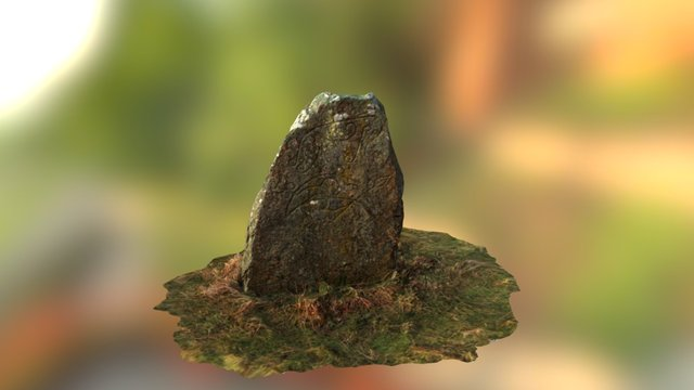 Broomend_of_Crichie_Pictish_Stone 3D Model