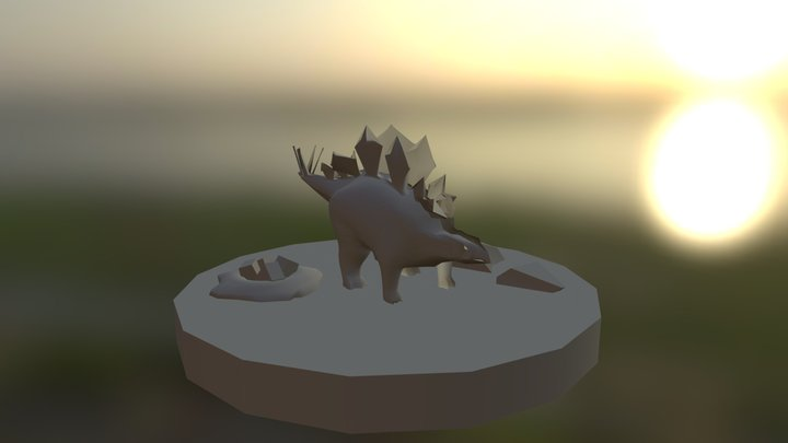 Stegosaurus Final 3D Model