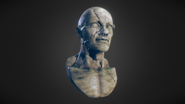 Self-portrait chest speedsculpt 3D Model