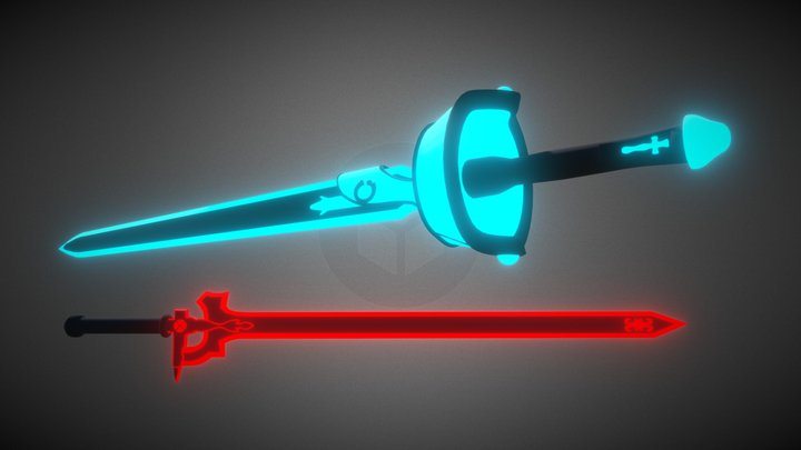 BeatSaber Custom saber  Elucidator+Lambent light 3D Model
