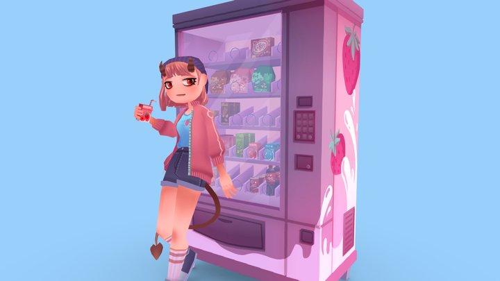 Sweet Demon 3D Model