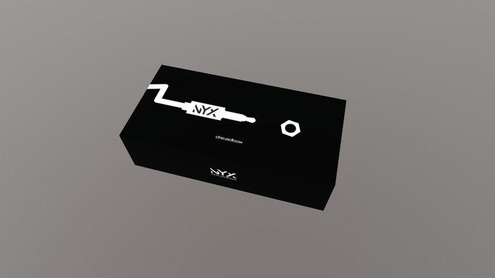 Dreadbox Nyx packaging concept 3D Model