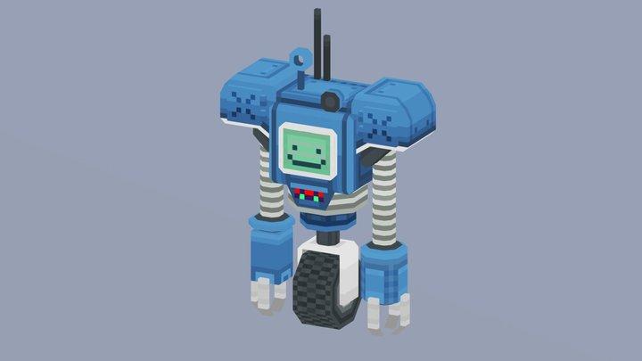Happy Securitron (Pixel3d) 3D Model