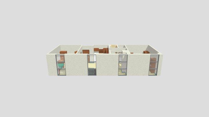 Kosove Apartments 3D Model