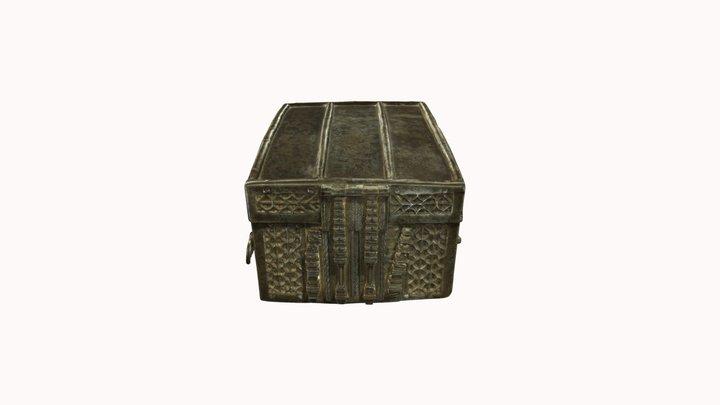 Jewel box-casket 3D Model