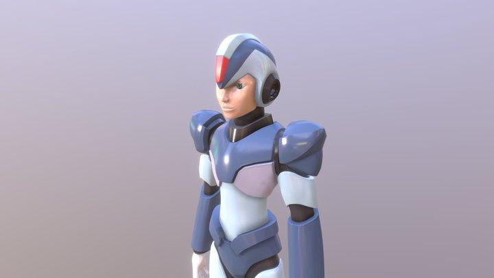 MEGAMAN X 3D Model