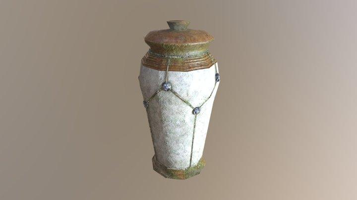 Large ceramic container 3D Model