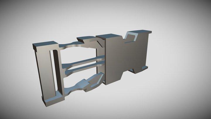 Side Release Buckle 3D Model