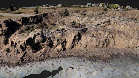 Pix4D Pt Fermin Landslide 3D Model