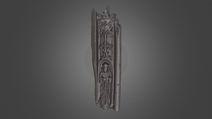 St Mancroft Panel B PMA 3D Model