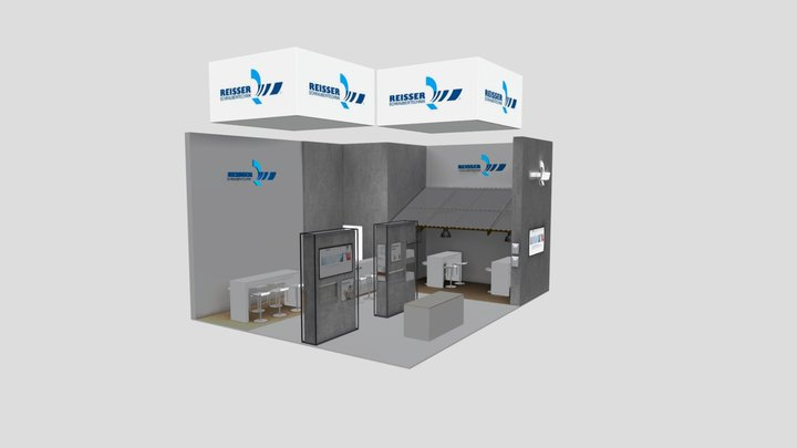 Dach+Holz 2020, Konzept Reisser Schraubentechnik 3D Model