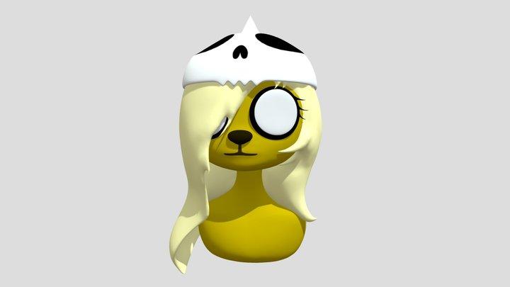 Adventure time Bronwyn 3D Model