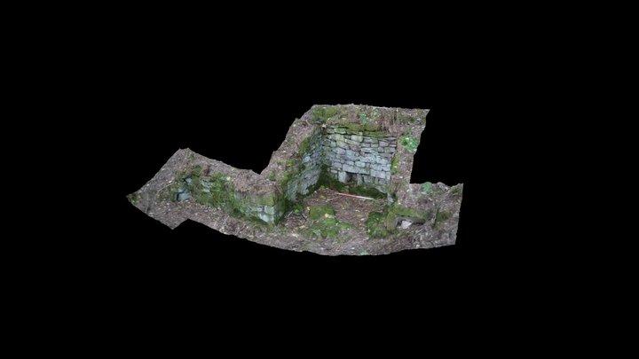 Winter Well, Hardcastle Crags, Calderdale 3D Model